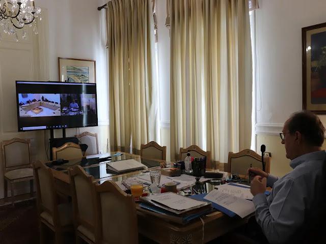 Νίκας στην τηλεδιάσκεψη για το Lockdown στην Αργολίδα: Έχει κουραστεί ο κόσμος, αλλά δυστυχώς δεν έχουμε κανέναν άλλο τρόπο άμυνας