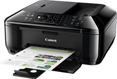 pl ink droplets as well as impress resolution upwardly to  Canon PIXMA MX434 Driver Downloads