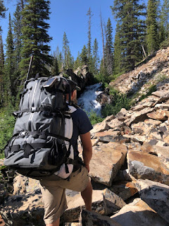 Hiking with Rokman Pack