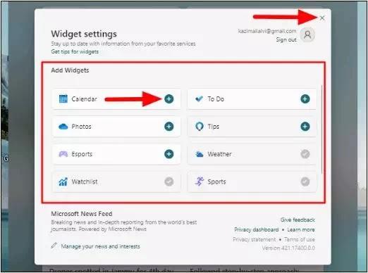 Cara Menambah & Menghapus Widget di Windows 11-3