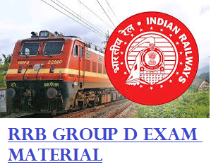 RRB Group D Exam Material