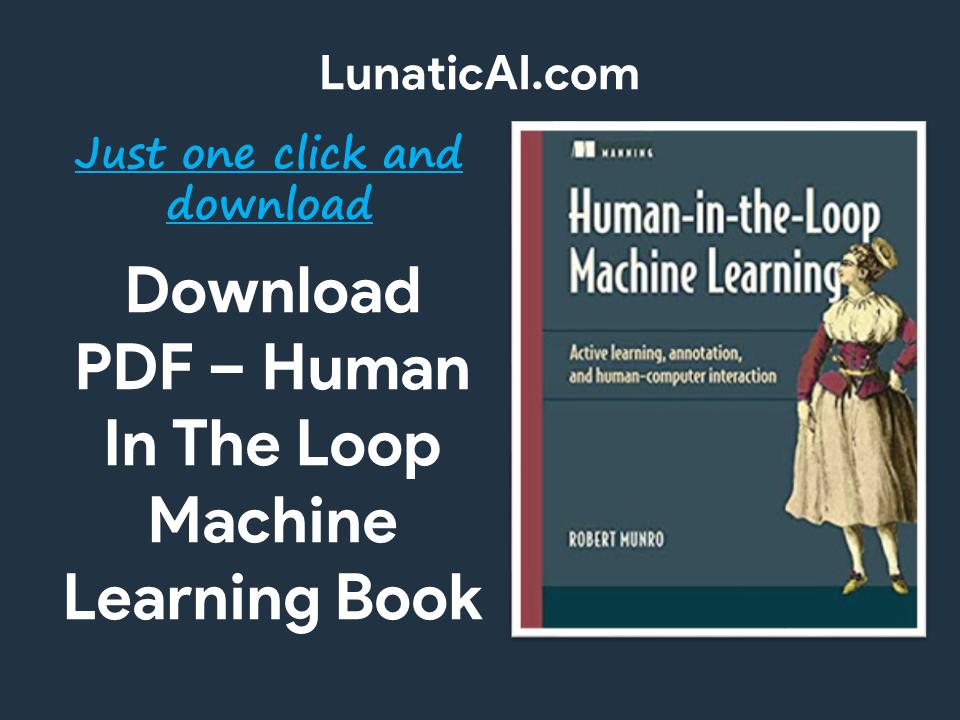 Human-in-the-Loop Machine Learning PDF