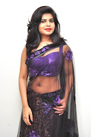 HeyAndhra Alekhya hot Photo Shoot in saree HeyAndhra.com