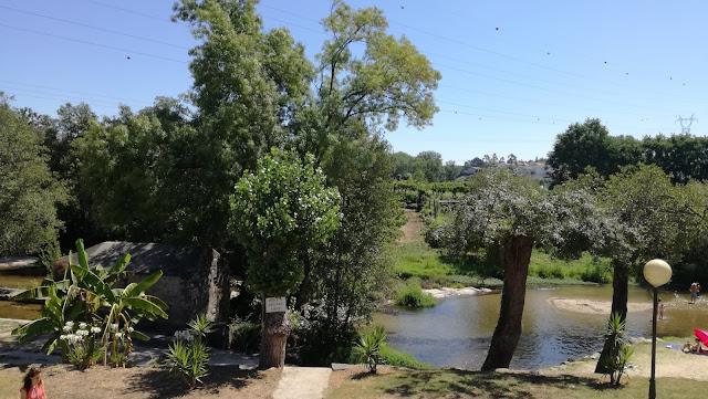 Zona fluvial de Porto Carrero