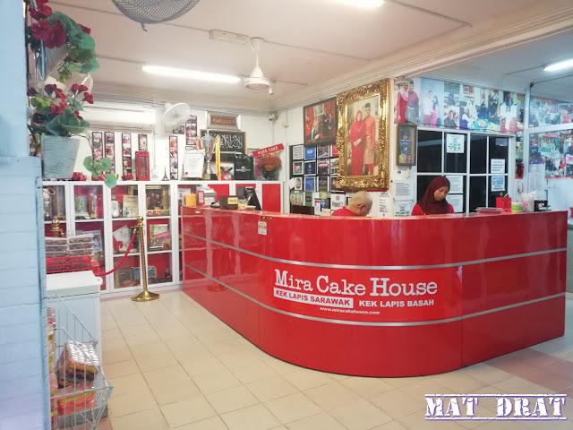 Kek Lapis Mira Sarawak di Kuching Sedap