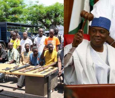 Presidency Reacts To Senate, Reps Threat To Impeach Buhari... attacks Saraki