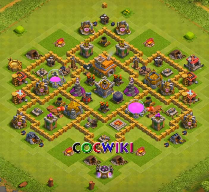 10+ Best Town Hall 7 Base Designs 2019