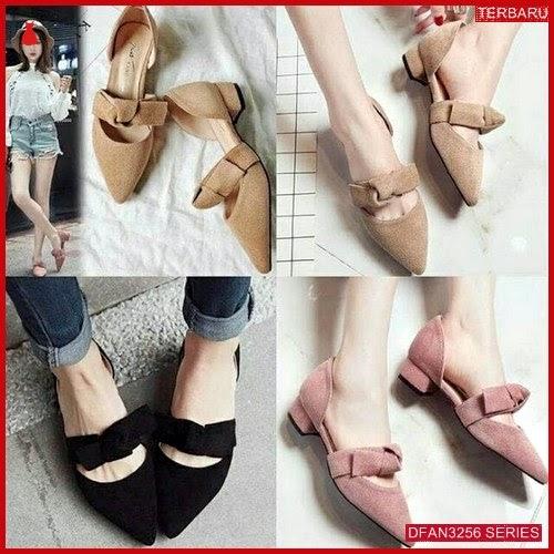 DFAN3256S59 Sepatu Dn 13 Hak Wanita Tahu Sepatu BMGShop