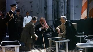 Raja Abdulaziz Kepada Roosevelt