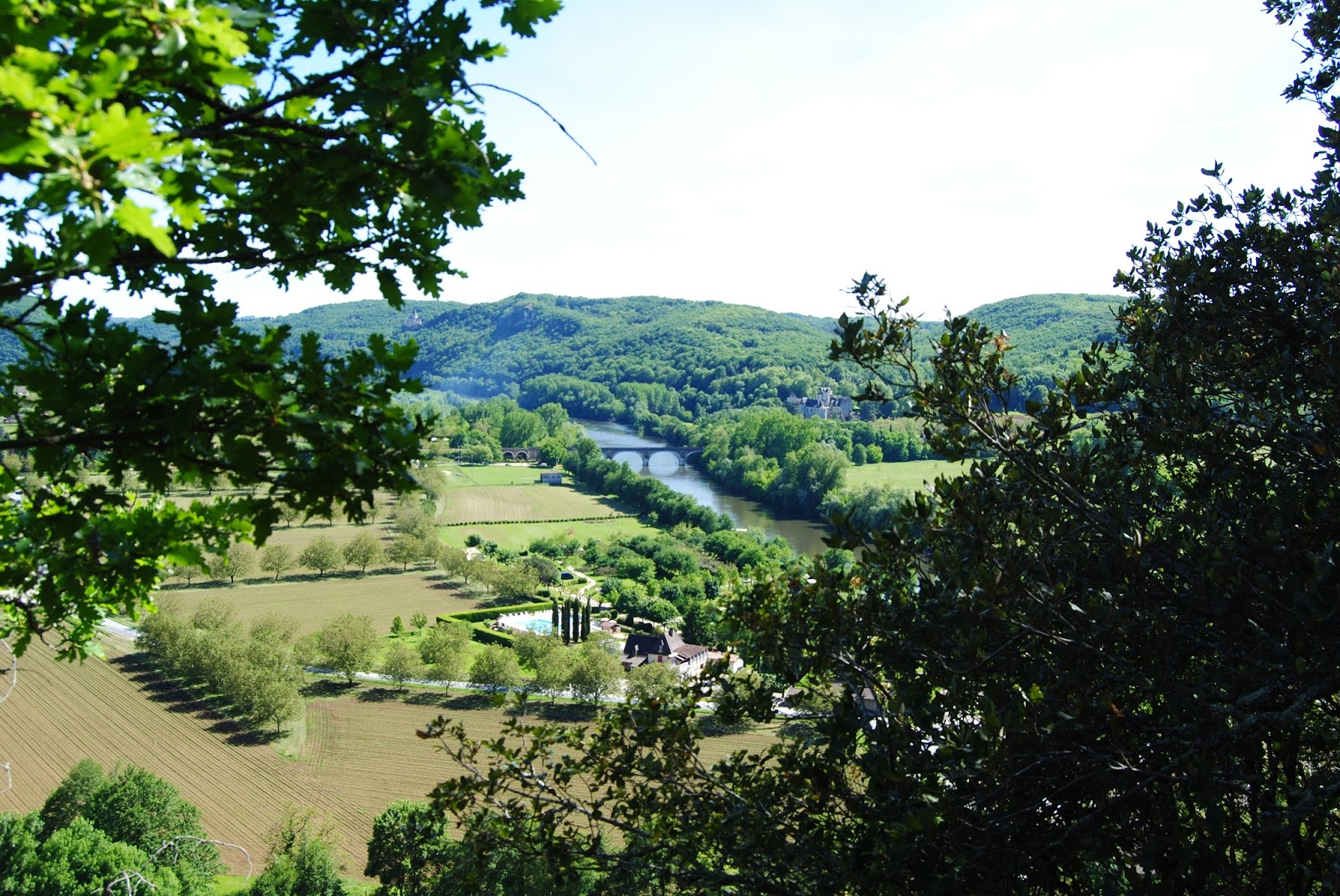 View of the Dordogne from Beynac