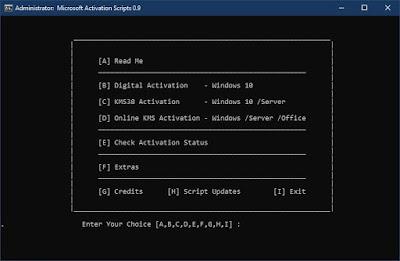 Chia sẻ công cụ kích hoạt bản quyền Windows,Office