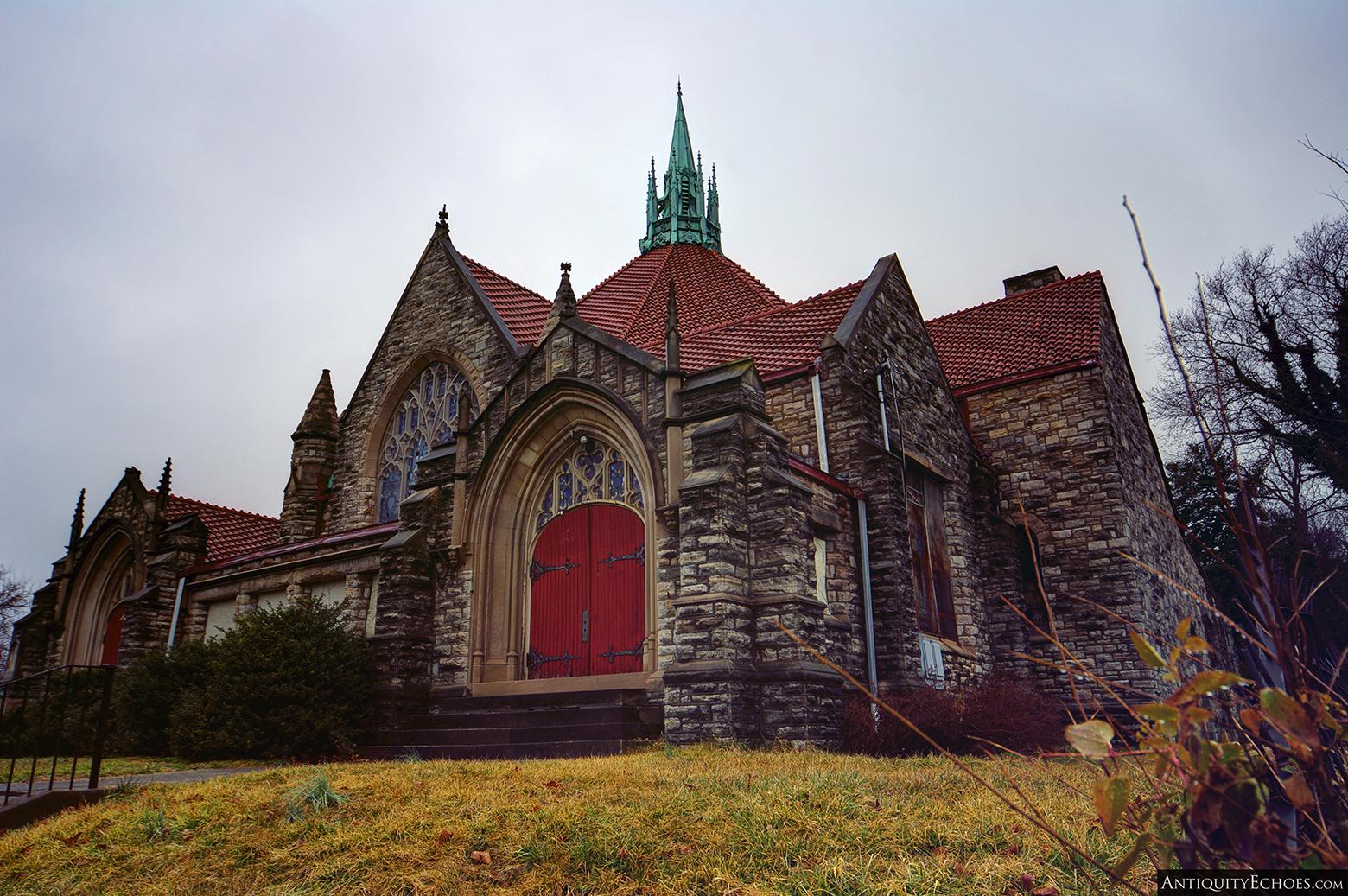 Third Presbyterian - Stonework Facade