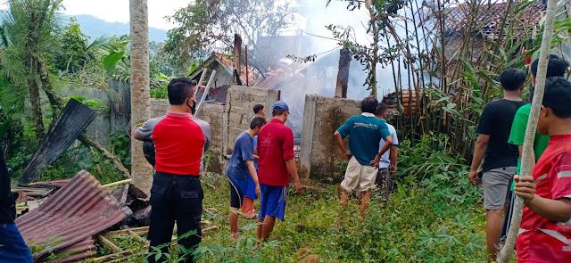 Lagi, Kebarakan Rumah Warga Rembang Akibat Lupa Matikan Tungku