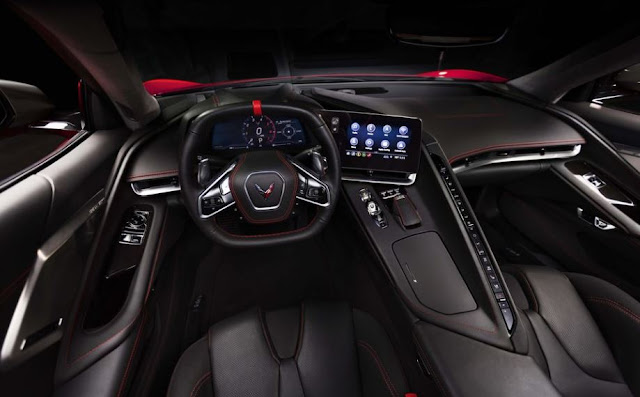 2020 Chevrolet Corvette C8 interior view full