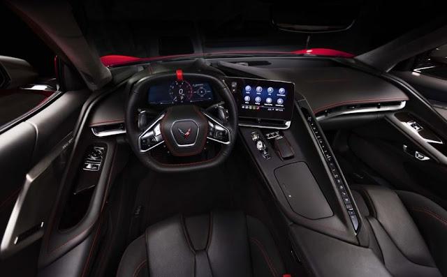 2020 Chevrolet Corvette C8 interior view full