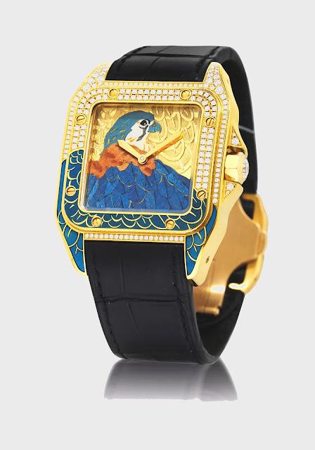 """أفضل ساعة كارتير سانتوس """"Cartier D'Art Santos 100"""""""