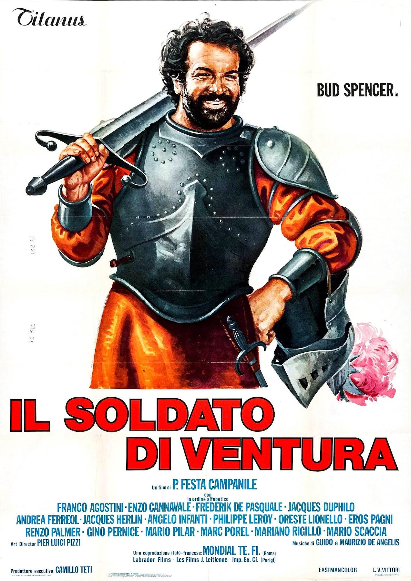 La grande bagarre (1975) Pasquale Festa Campanile - Il soldato di ventura (07.1975 / 09.1975)
