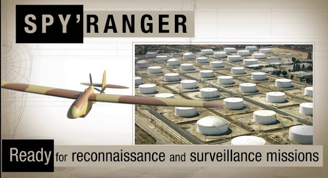Drone Spy'Ranger Pesawat Pengintaian Mini Dengan Teknologi Canggih
