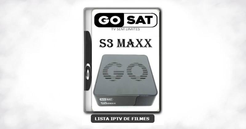 Gosat S3 Maxx Nova Atualização SKS 107.3w ON V1.026