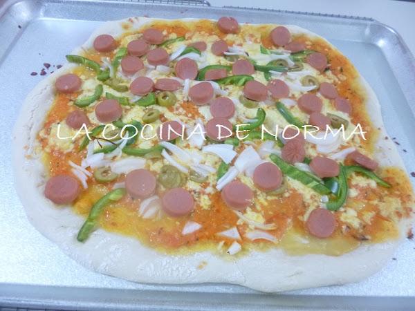 PIZZA A LA NORMA (A MI MANERA)
