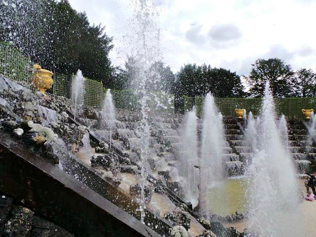 Grandes eaux musicales château Versailles spectacle Yvelines jardin