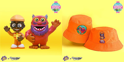 Designer Con 2020 Exclusive DJ Lance Rock x Hyperactive Monkey Resin Figures & Bucket Hats