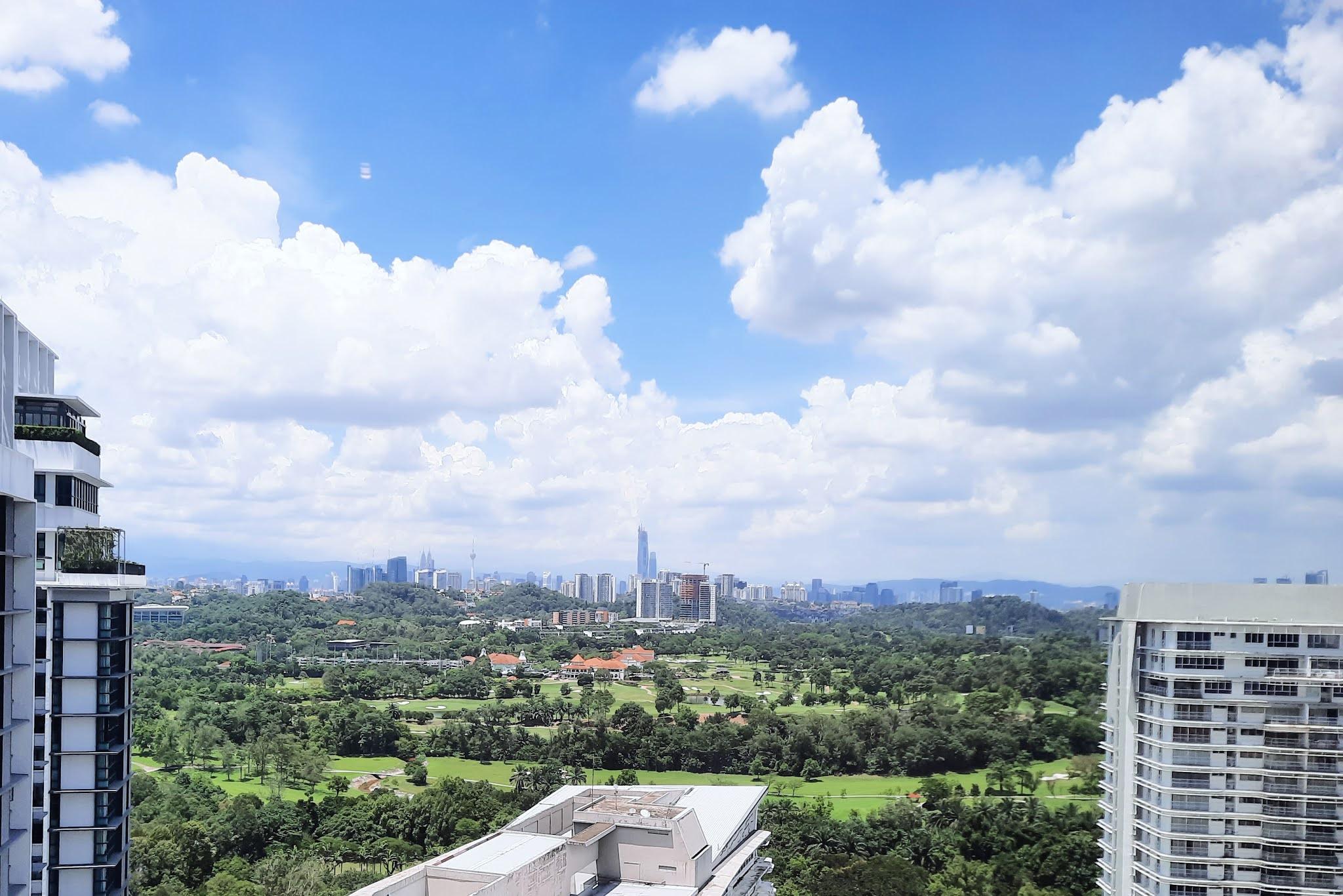 KL View from Menara LGB, TTDI