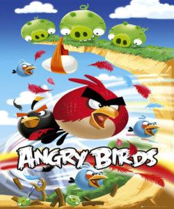 شعار لعبة الطيور الغاضبه