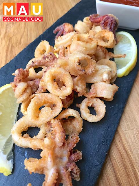 mau cocina de todo calamares fritos facil receta empanizados