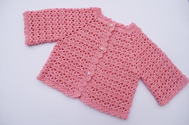 1 - Crochet Imagen Chaqueta muy fácil para todas las tallas a crochet y ganchillo (1)