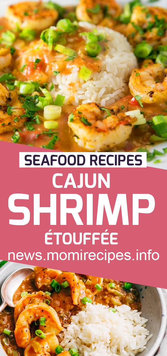Cajun shrimp etouffee | Seafood Recipes Healthy, Seafood Recipes For Dinner, Seafood Recipes Easy, Seafood Recipes Fresh, Seafood Recipes Shrimp, Seafood Recipes Pasta, Seafood Recipes Crab, Seafood Recipes Salmon, Seafood Recipes Videos, Seafood Recipes Soup, Seafood Recipes Scallops, Seafood Recipes Crockpot, Seafood Recipes Lobster, Seafood Recipes Cajun. #cajunshrimp #seafoodrecipe #cajunshrimpetouffee.