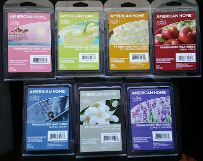 Yankee American Home Scented Wax Melts from Walmart - Spring 2016