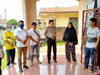 Camat Rantau Utara Bersama Lurah  Sosialisasi Pencegahan Covid - 19