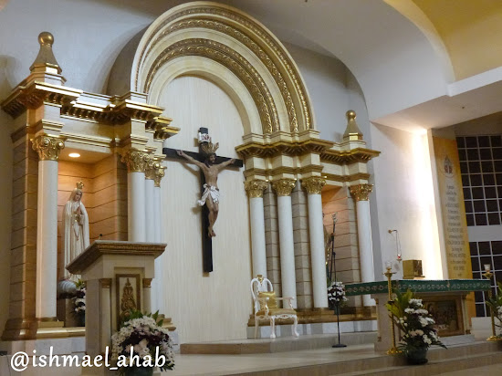 Altar of Chapel of the Eucharistic Lord in SM Megamall