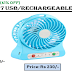 Moonlight ML-777 USB Rechargeable Fan[61% Off]