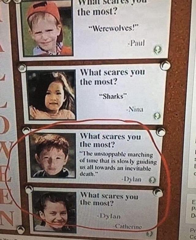 어린이들이 가장 무서워하는 것 - 꾸르