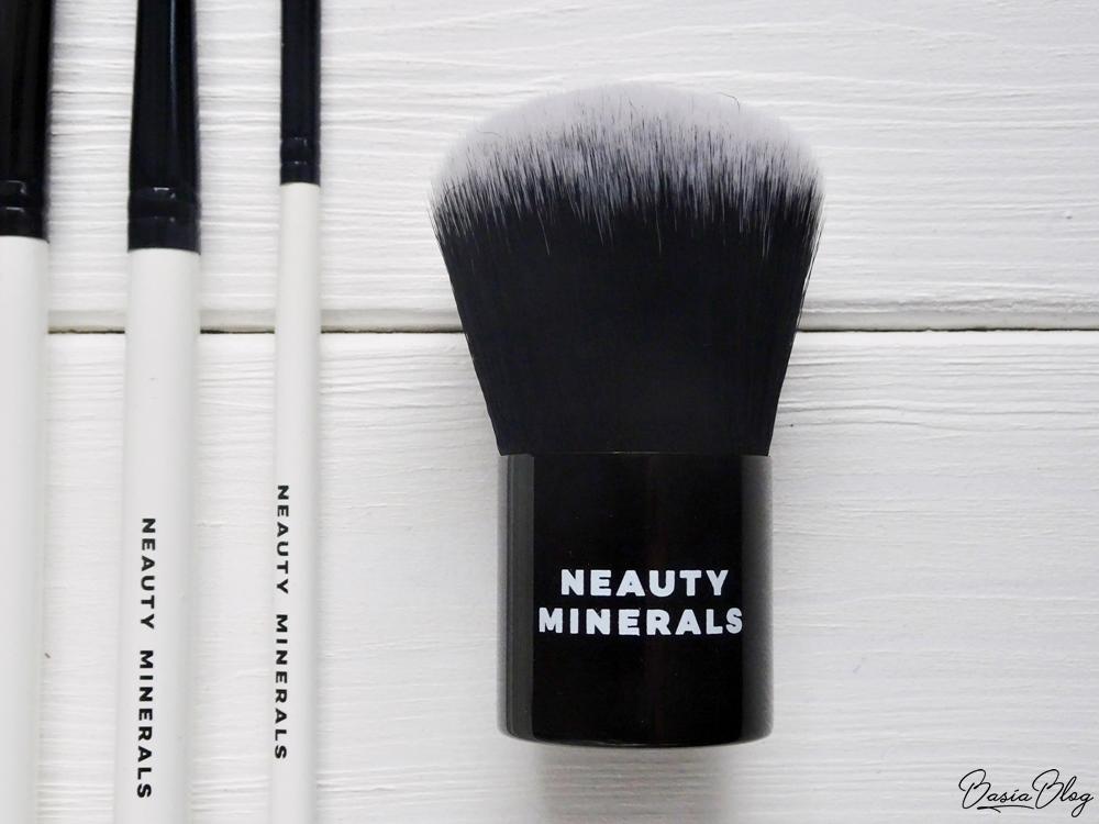 pędzle syntetyczne do kosmetyków mineralnych Neauty Minerals