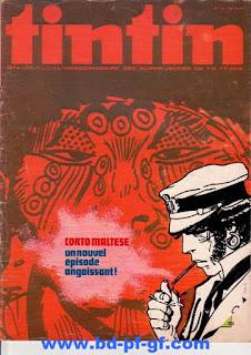 Tintin numéro 34, 1975, Corto Maltese