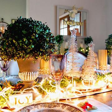 Christmas Dining Room Tour & Positivity