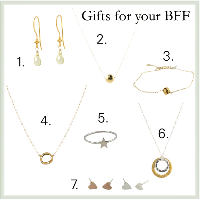 holiday gifts for your BFF