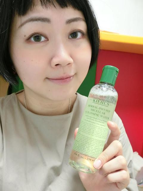 卸妝一瓶就搞定 / Kiehls 檸檬香草保濕卸妝水
