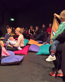 Audience and chorus at Mahogany Opera Group's Various Stages Festival 2017