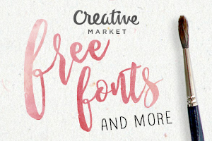 Free fonts Creative Market