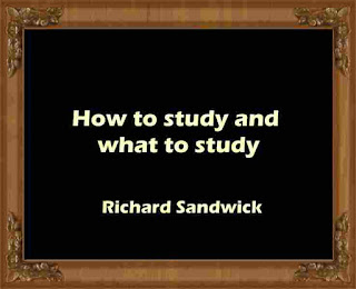 How to study and what to study
