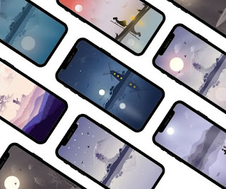 8 Beautiful wallpapers for your phone