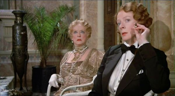 Bette Davis and Maggie Smith