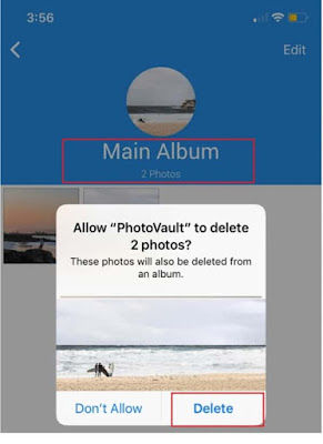 How to create and protect a special photo album on iPhone