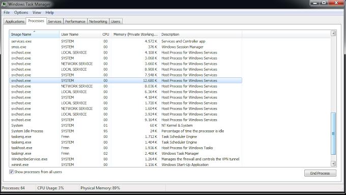 Cara Mengatasi Svchost.exe Yang Memakan Banyak RAM Sampe Lag