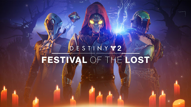 destiny 2 festival of the lost 2020 halloween limited time event live now free to play online multiplayer first person shooter bungie pc steam ps4 xb1 x1