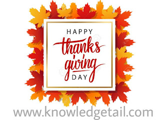 ThanksGiving Day (www.knowledgetail.com)